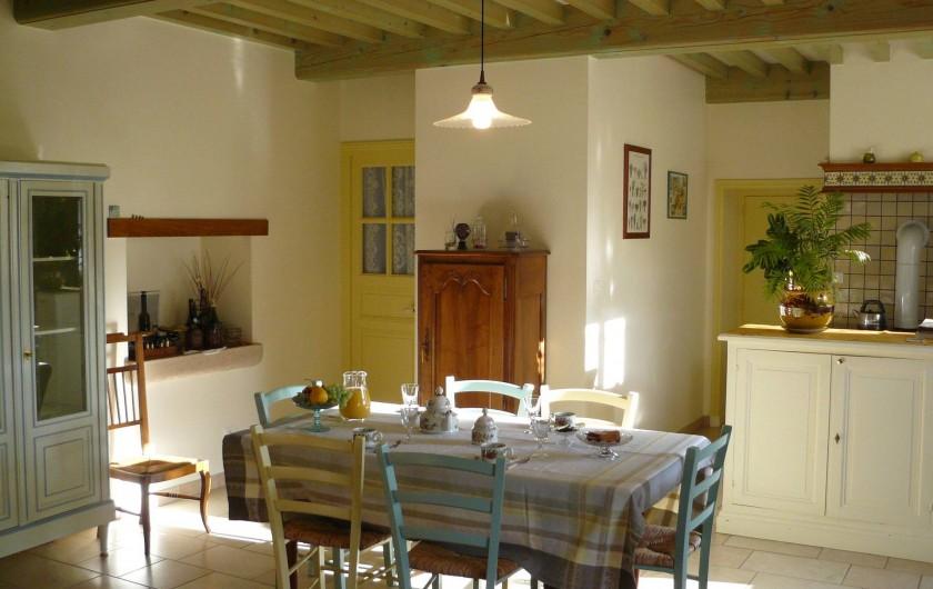 Location de vacances - Gîte à Le Glabat - Séjour du gite