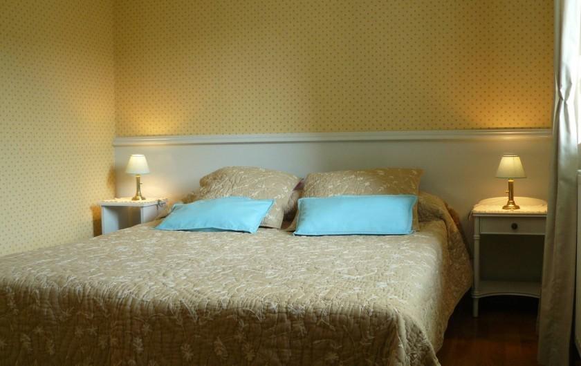 Location de vacances - Gîte à Le Glabat - Chambre gite version lit 160x200