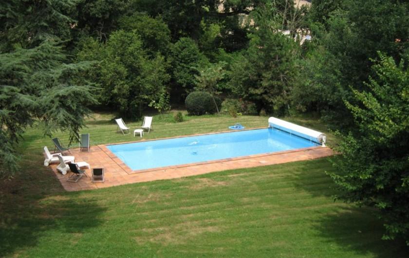 Location de vacances - Château - Manoir à Sainte-Foy-d'Aigrefeuille