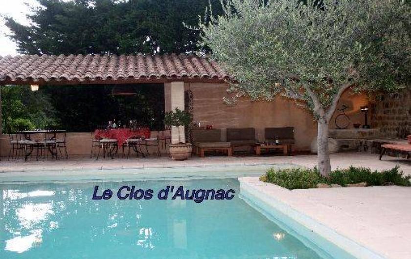 Location de vacances - Chambre d'hôtes à Rosières - Piscine et abri