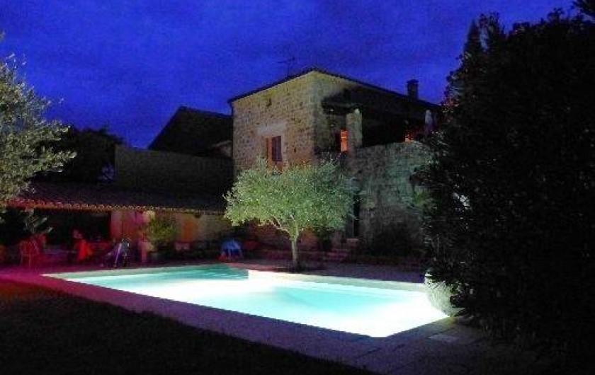 Location de vacances - Chambre d'hôtes à Rosières - De nuit