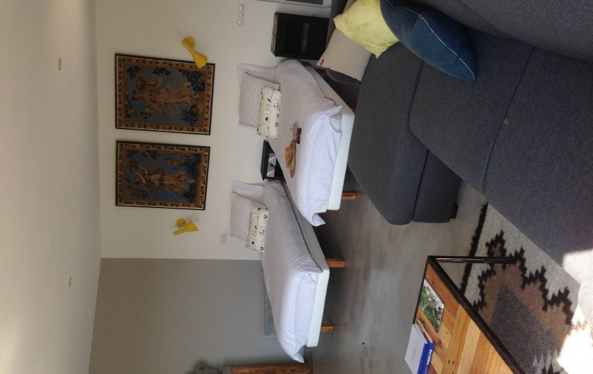 Location de vacances - Chambre d'hôtes à Rosières - Chambre Elemen'Terre en twin