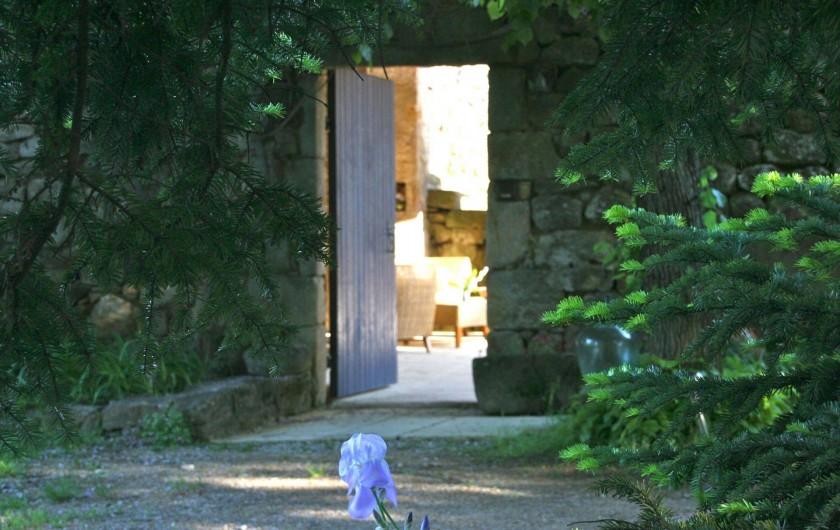 Location de vacances - Chambre d'hôtes à Rosières - Entrée