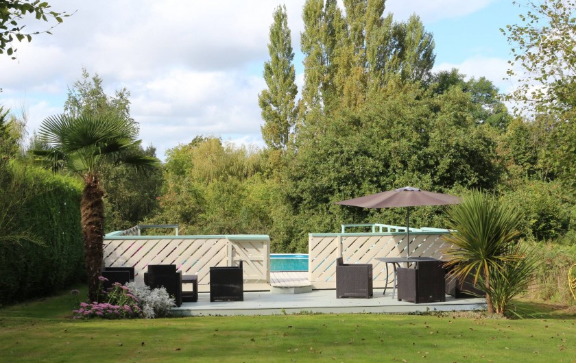 Location de vacances - Gîte à Saint-Pierre-de-Plesguen - Swimming Pool