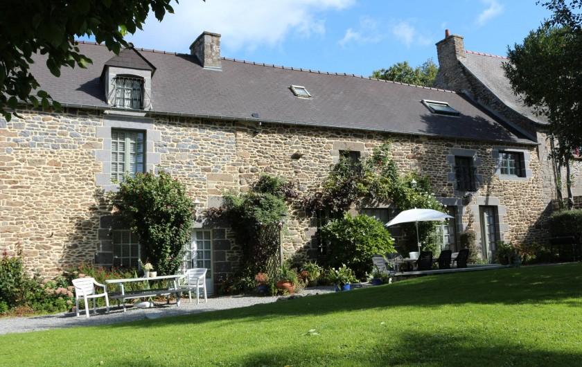Location de vacances - Gîte à Saint-Pierre-de-Plesguen - Le Clos du Rouvre - main house