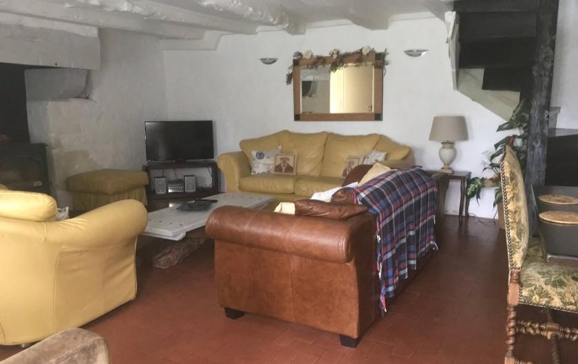 Location de vacances - Gîte à Saint-Pierre-de-Plesguen - Sitting room
