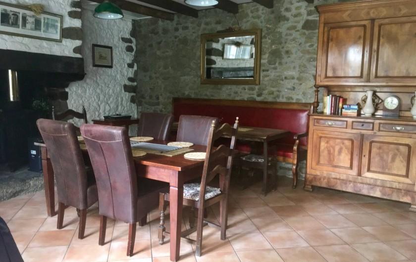 Location de vacances - Gîte à Saint-Pierre-de-Plesguen - Dining room
