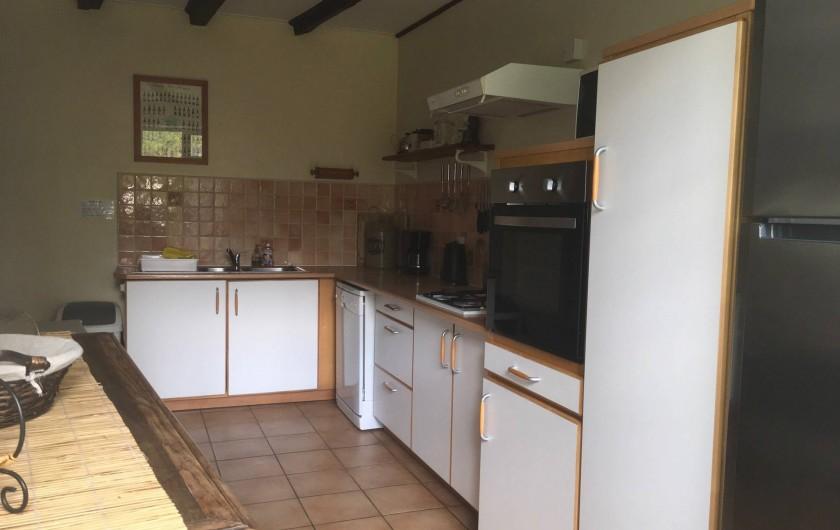 Location de vacances - Gîte à Saint-Pierre-de-Plesguen - Main Kitchen