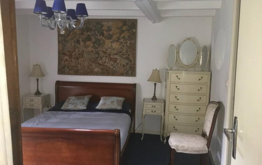 Location de vacances - Gîte à Saint-Pierre-de-Plesguen - Main bedroom (en-suite)