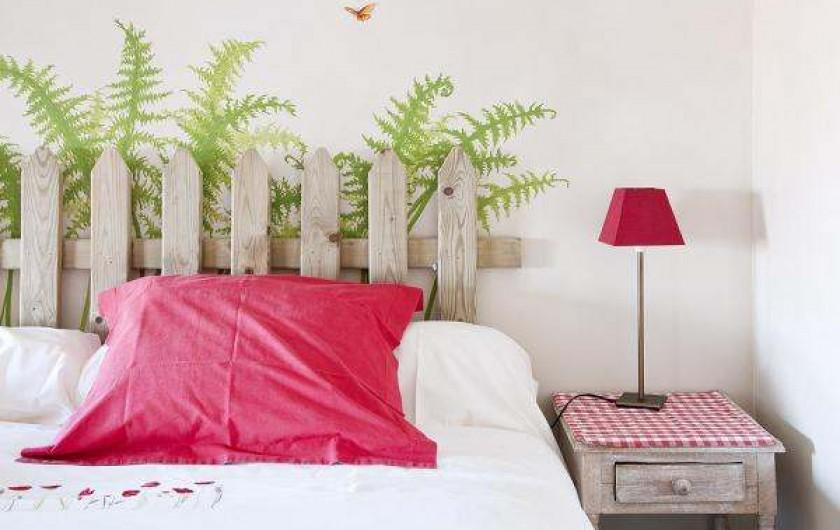 Location de vacances - Gîte à Jalhay - Chambre Coquelicot