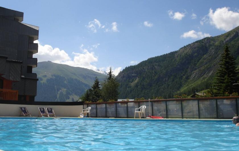 Location de vacances - Appartement à Val-d'Isère - Piscine été