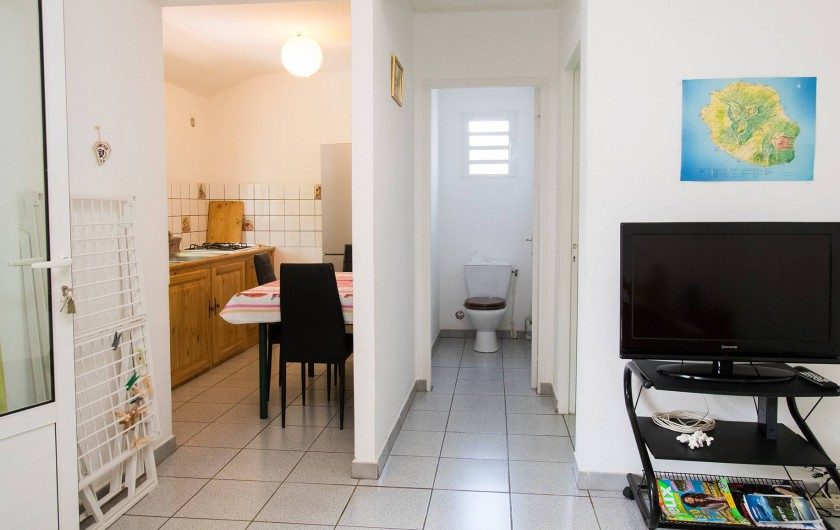 Location de vacances - Studio à La Saline-Les-Bains