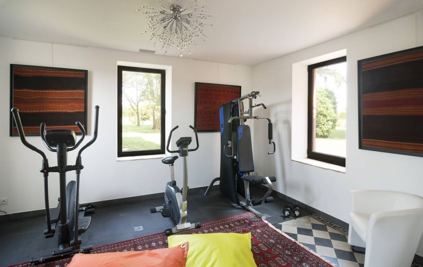 Location de vacances - Maison - Villa à Nîmes - La Salle de Fitness