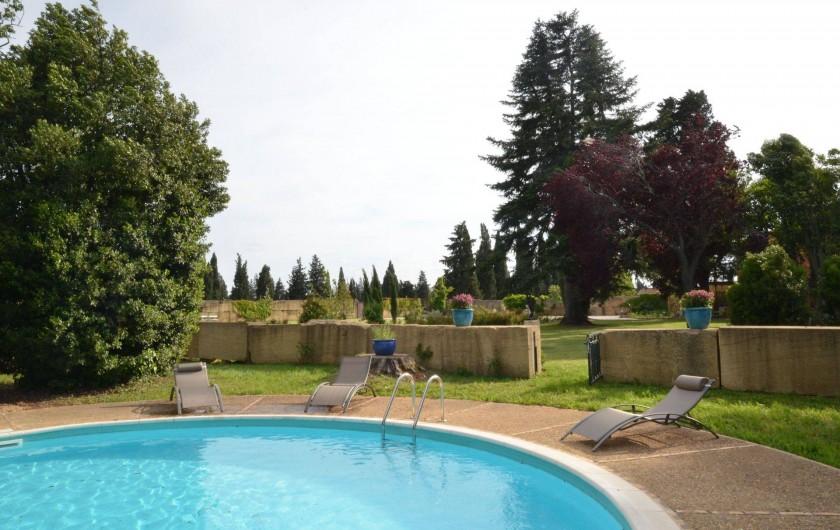 Location de vacances - Maison - Villa à Nîmes - La Piscine