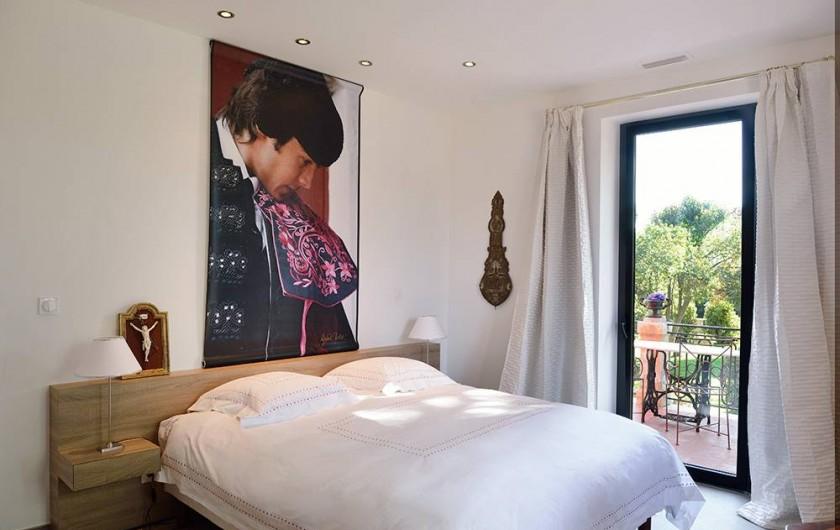 Location de vacances - Maison - Villa à Nîmes - Chambre « du Torero »