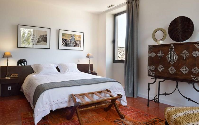 Location de vacances - Maison - Villa à Nîmes - Chambre « Out of Africa »