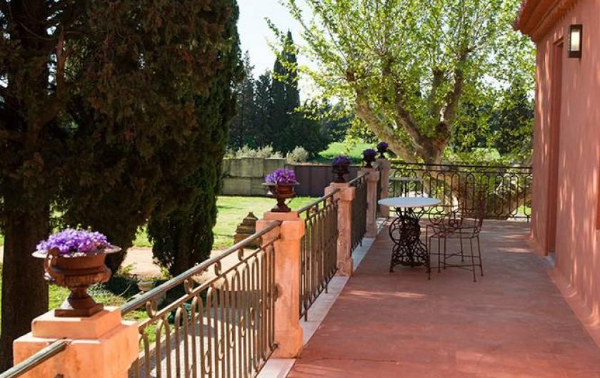 Location de vacances - Maison - Villa à Nîmes - La Terrasse