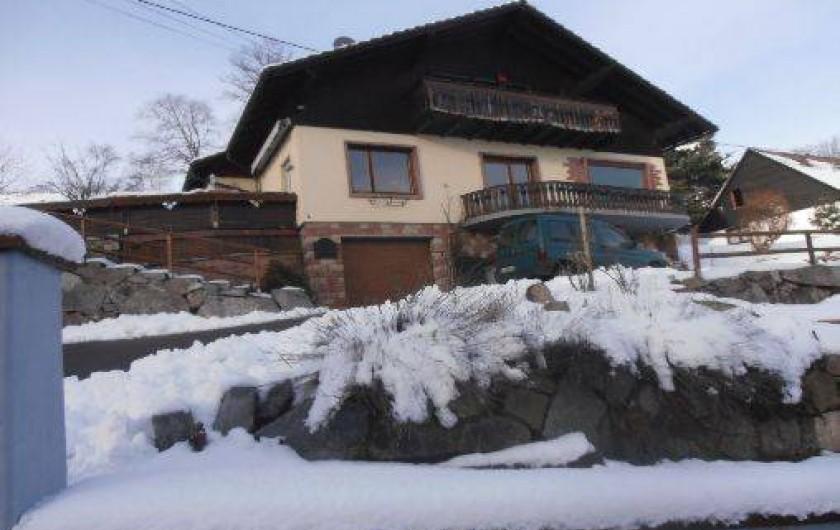 Location de vacances - Gîte à Soultzeren
