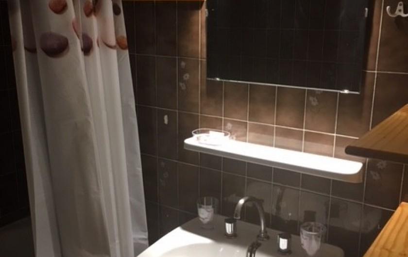 Location de vacances - Appartement à Orcières Merlette - Salle de bains