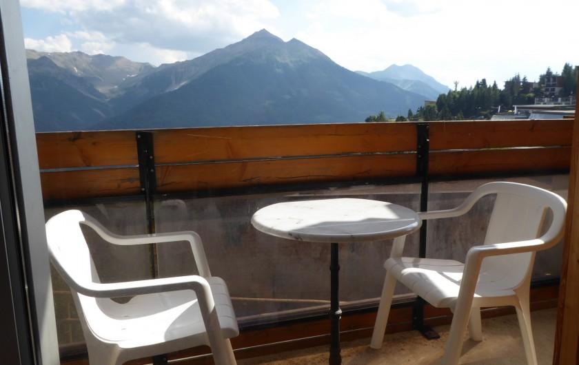 Location de vacances - Appartement à Orcières Merlette - Balcon