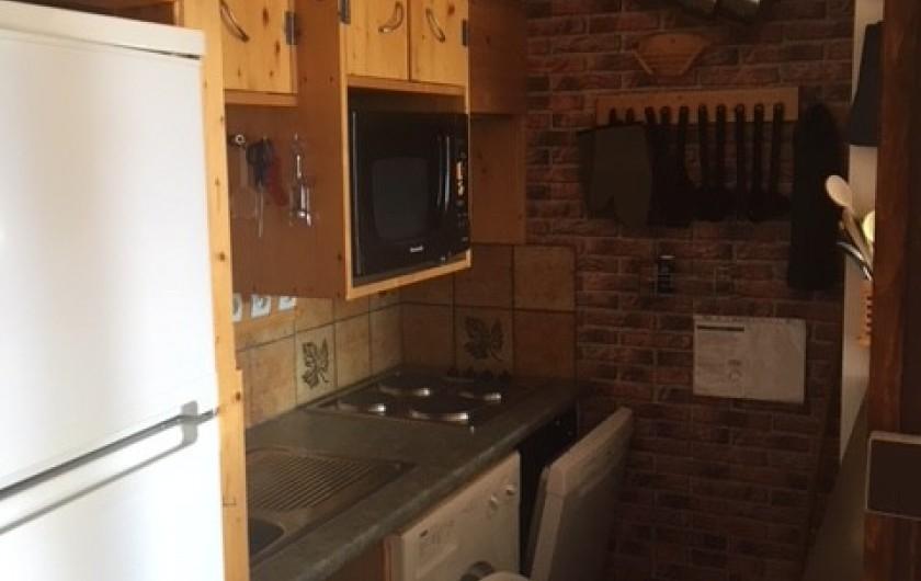 Location de vacances - Appartement à Orcières Merlette - Cuisine