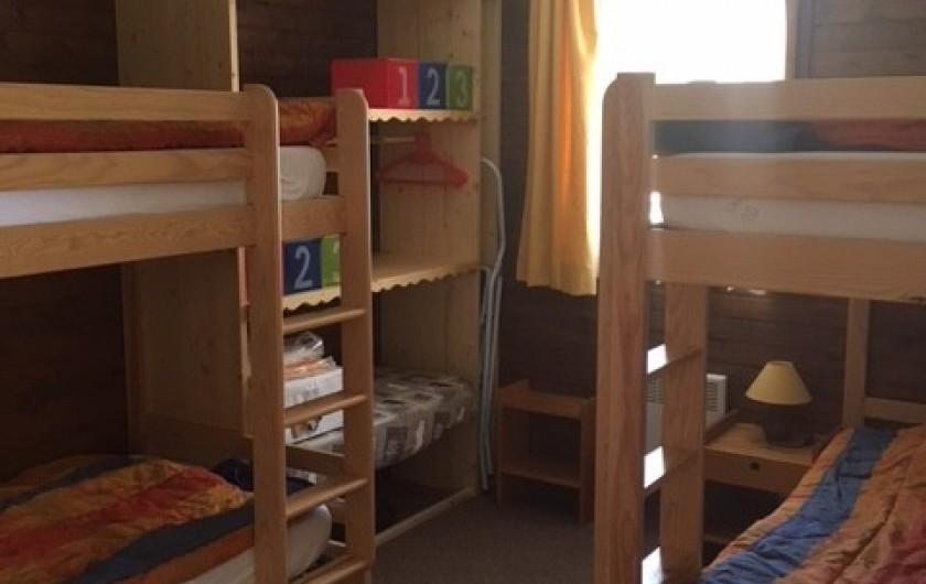 Location de vacances - Appartement à Orcières Merlette - Chambre 2
