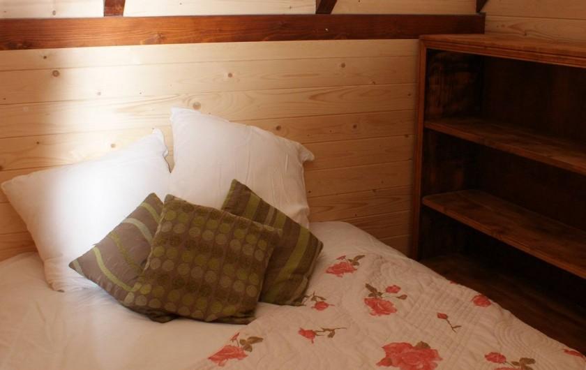 Location de vacances - Insolite à Sainte-Fortunade - Chambre double