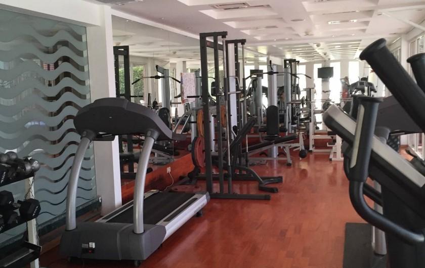 Location de vacances - Appartement à Eilat - salle de sport et Hammam