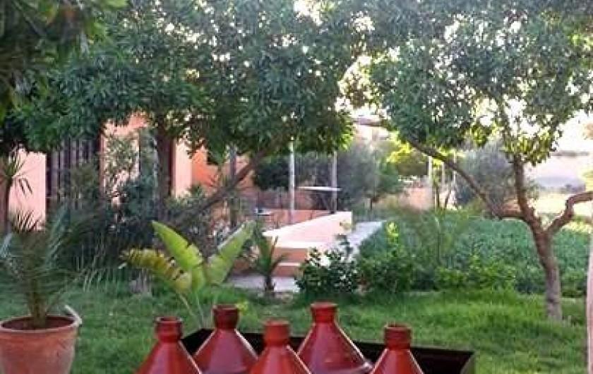 Location de vacances - Chambre d'hôtes à Agadir - coin tajines