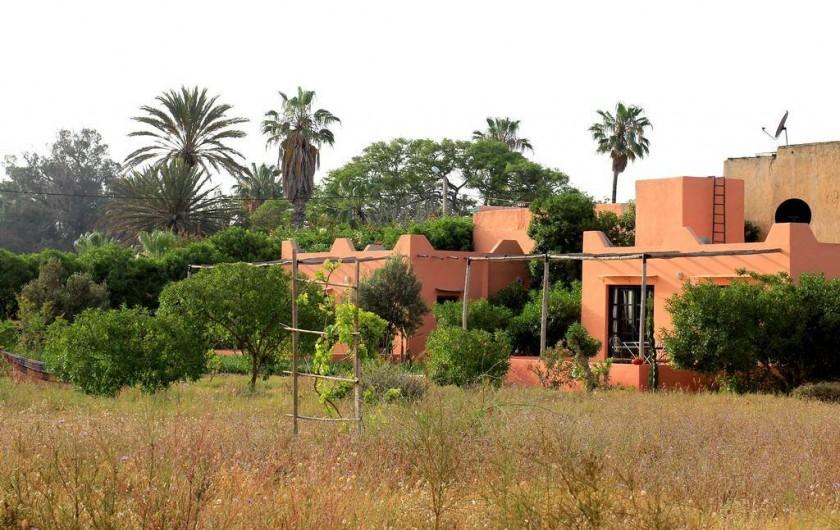 Location de vacances - Chambre d'hôtes à Agadir - vue des bungalows