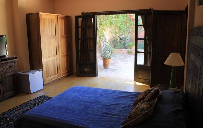 Location de vacances - Chambre d'hôtes à Agadir - vue de la terrasse a partir d une de nos chambres