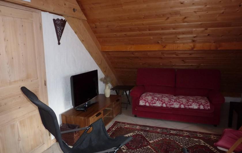 Location de vacances - Appartement à Le Monêtier-les-Bains - Salon