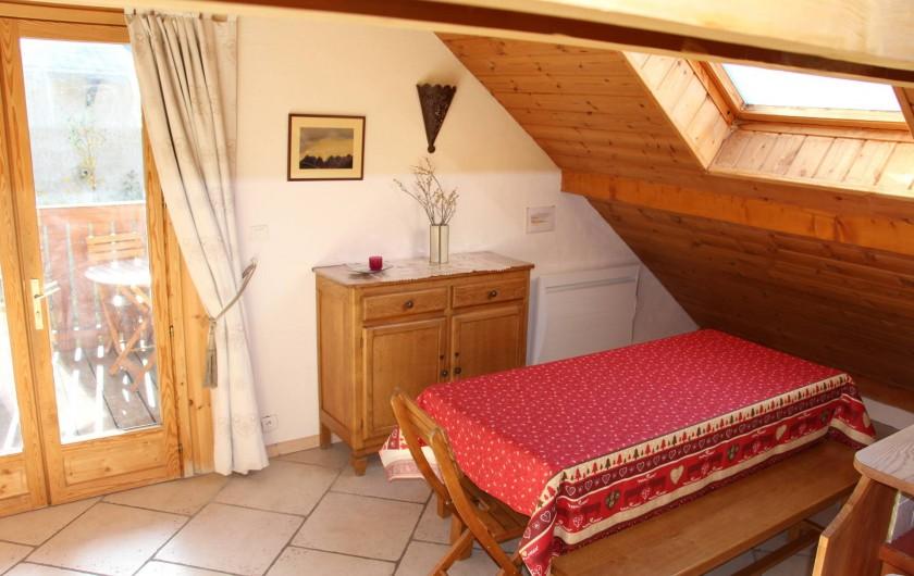 Location de vacances - Appartement à Le Monêtier-les-Bains - Salle a manger