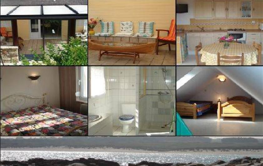 Location de vacances - Villa à Lampaul-Ploudalmézeau