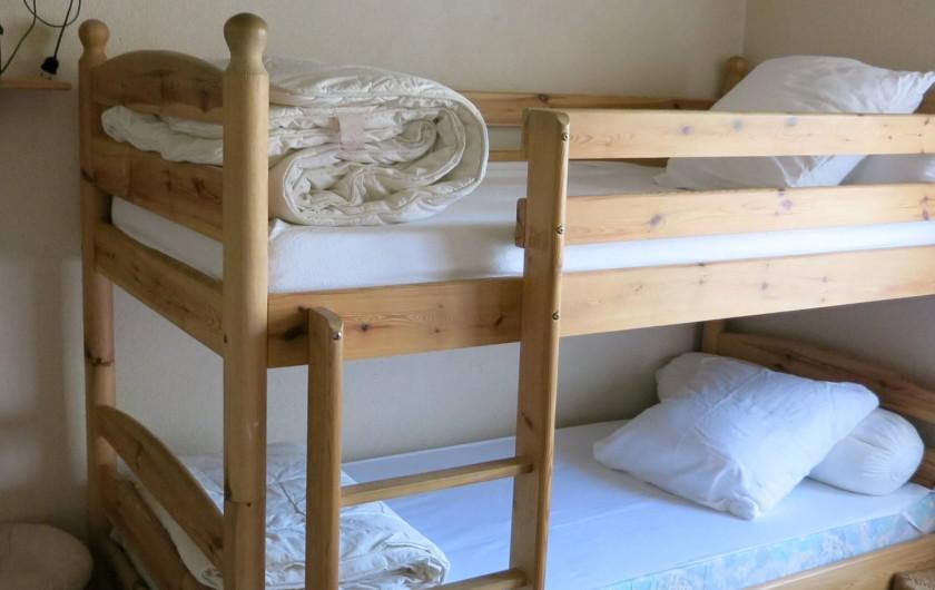 Location de vacances - Mas à Agay - Chambre C avec 2 x 2 lits superposés
