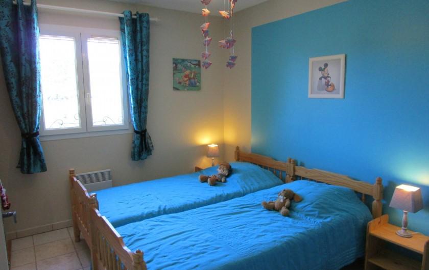 Location de vacances - Villa à Bagnols-en-Forêt - Chambre a coucher 3