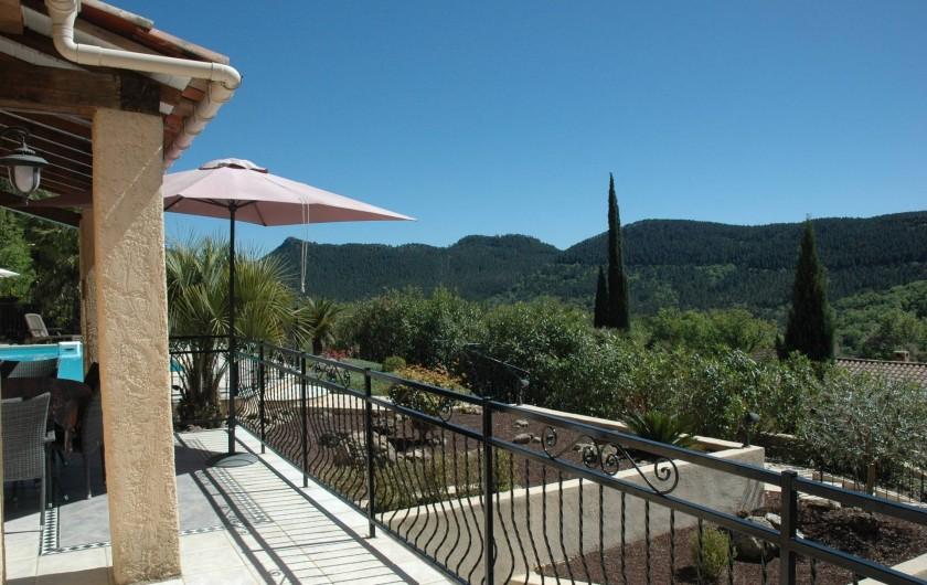 Location de vacances - Villa à Bagnols-en-Forêt - Vue dans les montagnes