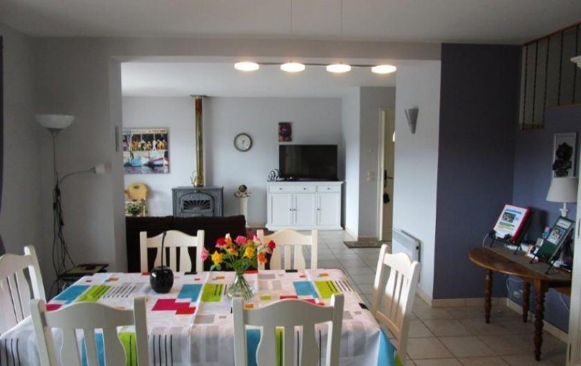 Location de vacances - Villa à Bagnols-en-Forêt - Living,  salle a manger