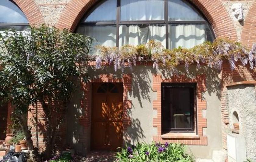 Location de vacances - Appartement à Bompas - l'entrée de votre location