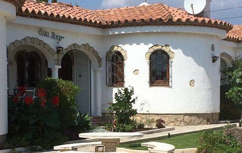 Location de vacances - Villa à Miami Platja - Le devant de la casa Roger