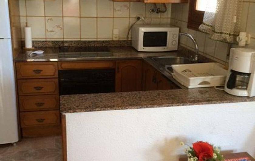 Location de vacances - Villa à Miami Platja - La cuisine
