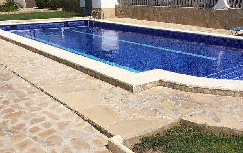 Location de vacances - Villa à Miami Platja - La piscine communautaire de 10 / 5