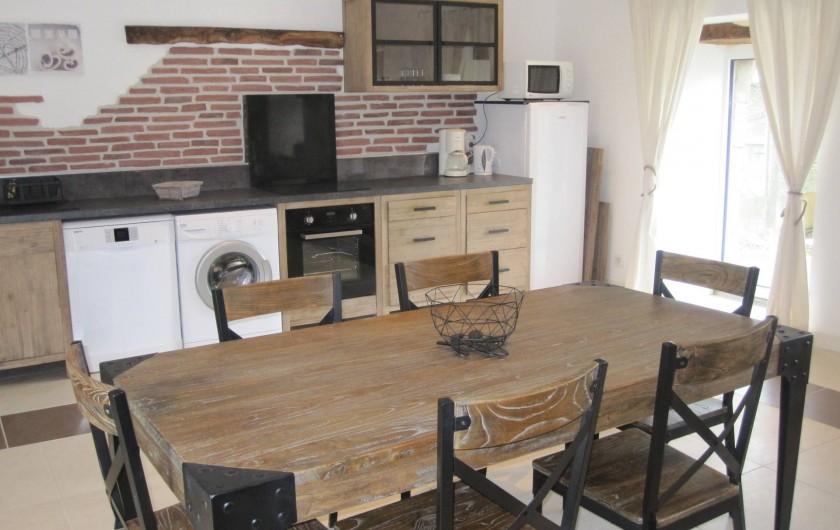 Location de vacances - Gîte à Epiniac - Cuisine Kitchen