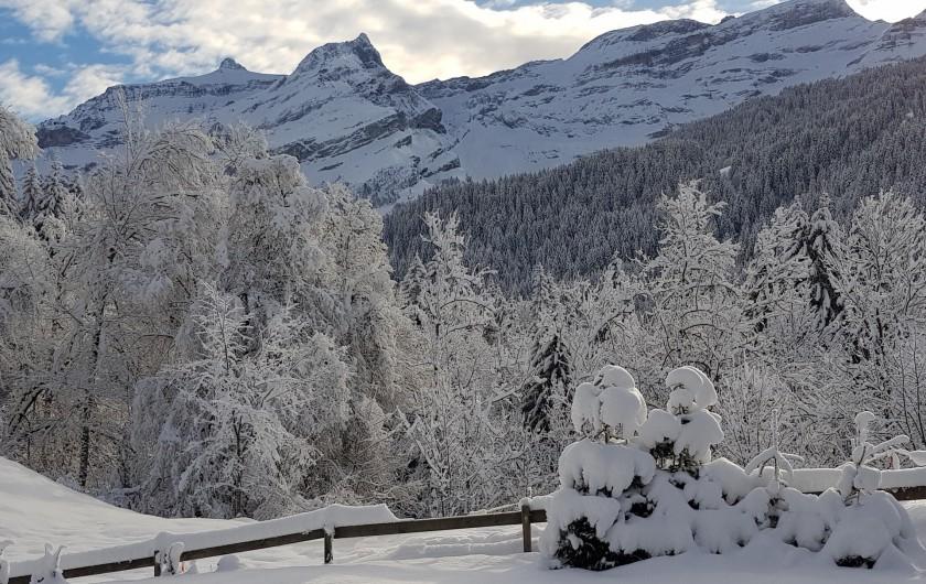Location de vacances - Chalet à Les Diablerets - Chaîne des Diablerets
