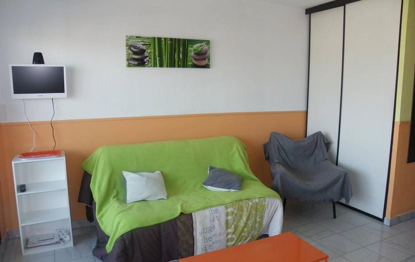 Location de vacances - Studio à Valras-Plage