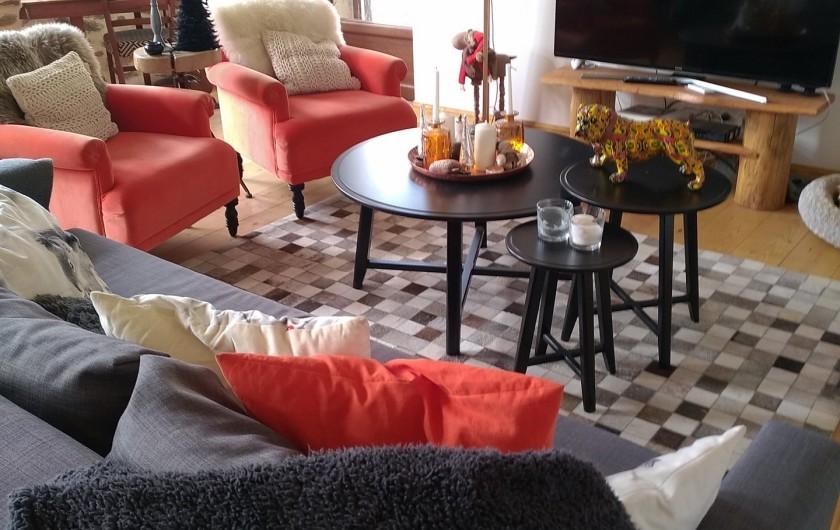 Location de vacances - Maison - Villa à Puyvalador - salon