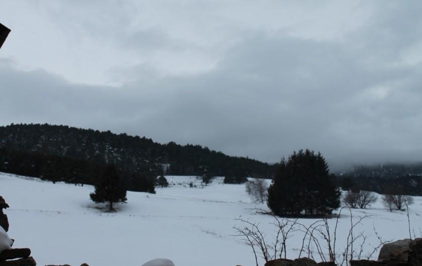 Location de vacances - Maison - Villa à Puyvalador - en hiver