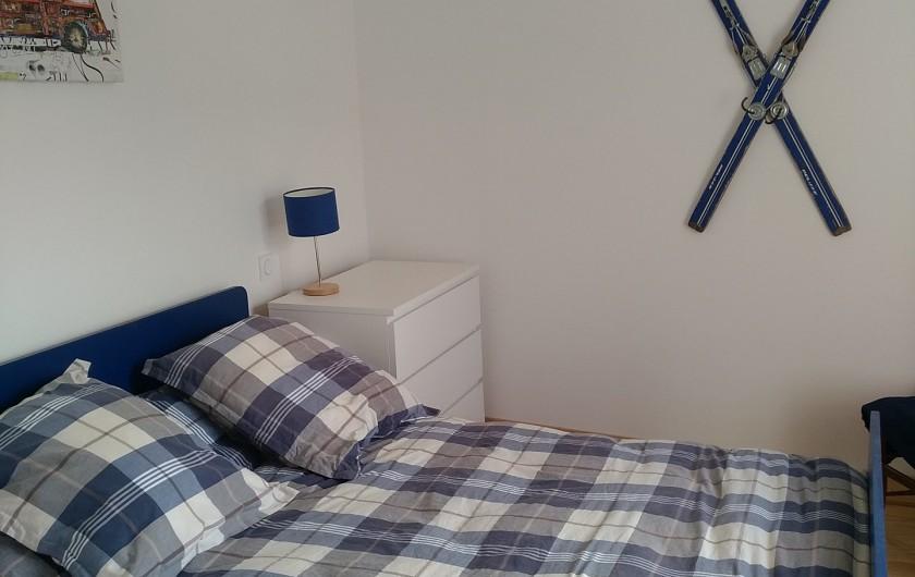 Location de vacances - Maison - Villa à Puyvalador - chambre bleue