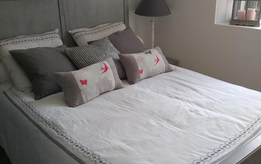 Location de vacances - Maison - Villa à Puyvalador - chambre blanche