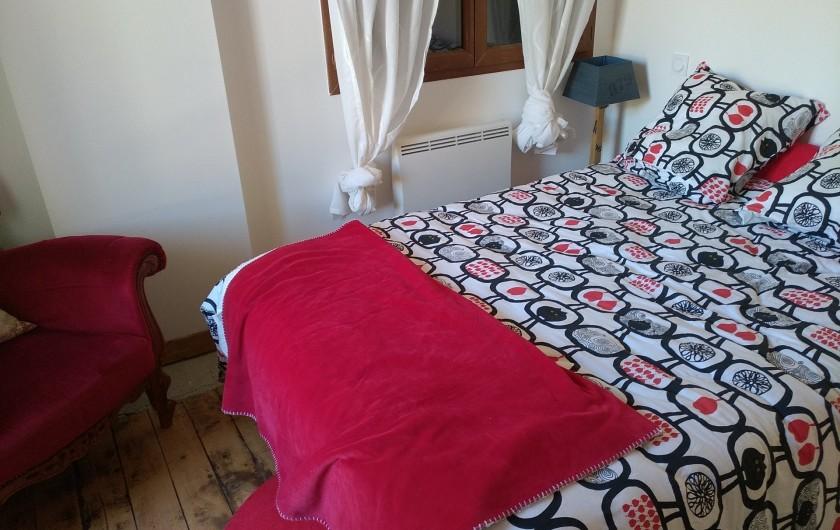 Location de vacances - Maison - Villa à Puyvalador - chambre rouge
